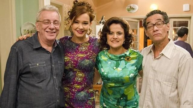 Júlia Lemmertz e Chico Diaz vivem trama de suspense em seriado