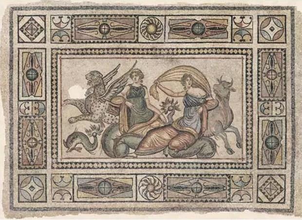 Mosaicos de Zeugma (Foto: Zeugma Archaeology Project/Divul)