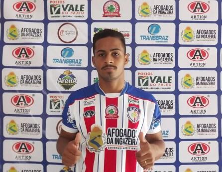 Tarcísio é um dos jogadores contratados pelo Ypiranga (Foto: Romário Silva/Ascom Afogados FC)