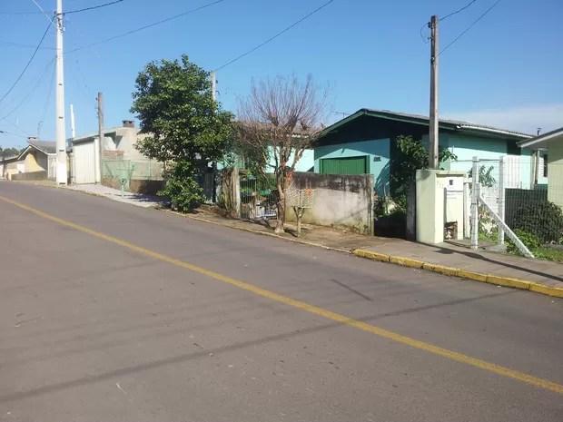 Crime aconteceu na manhã deste sábado (5) em Garibaldi, na Serra do Rio Grande do Sul (Foto: Marisol Santos/RBS TV)