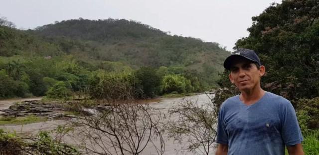 Pescador e garimpeiro, José Márcio Lazarani foi reconhecido como atingido em 2017   — Foto: Raquel Freitas/G1