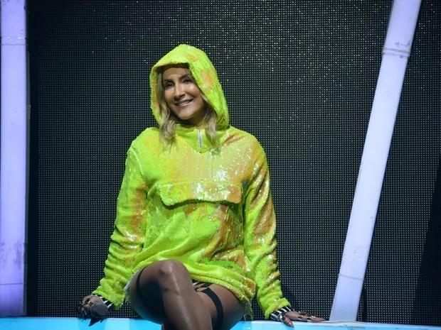 Claudia Leitte em show no Recife, em Pernambuco (Foto: Felipe Souto Maior/ Ag. News)
