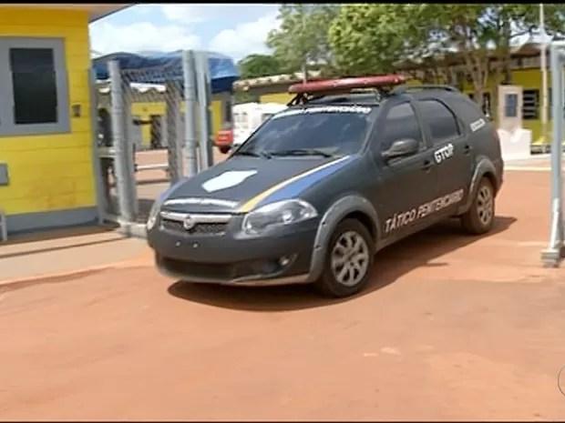 Diversas irregularidades foram encontradas no presídio de Araguaína (Foto: Reprodução/TV Anhanguera)