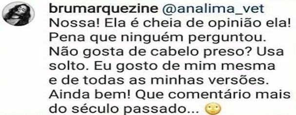 Resposta de Bruna Marquezine (Foto: Instagram/Reprodução)
