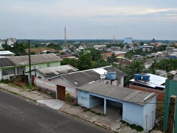 Bairro do Alumínio (Foto: Adelcimar Carvalho/G1)