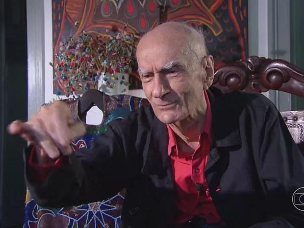 Ariano Suassuna revela detalhes sobre 'O jumento sedutor' (Foto: Reprodução/TV Globo)