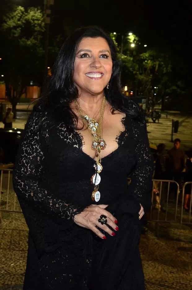 Regina Casé - Grande Prêmio do Cinema Brasileiro (Foto: Roberto Teixeira / Ego)