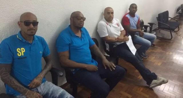 Integrantes da torcida Independente prestaram depoimento na tarde desta segunda-feira (Foto: GloboEsporte.com)