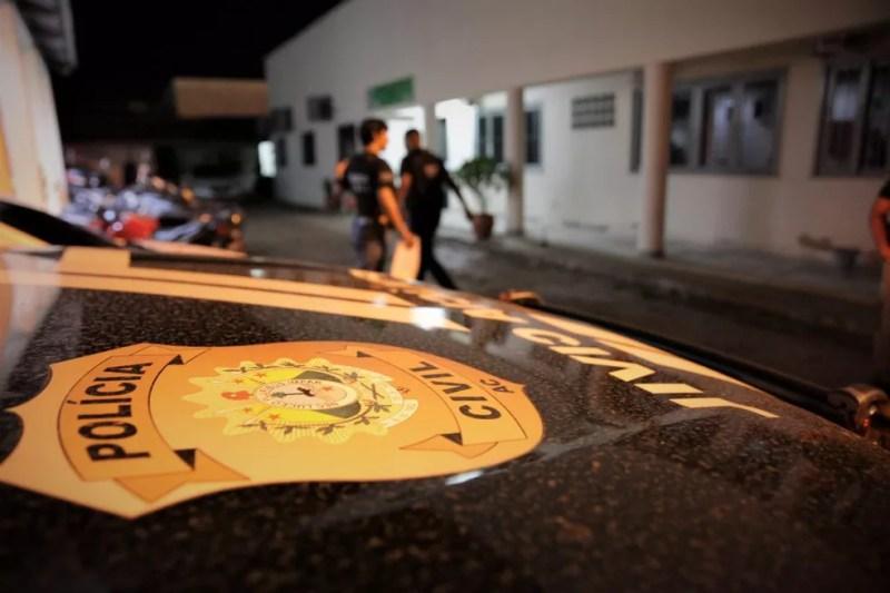 Suspeito de matar jovem decapitado após ser levado de casa em Rio Branco é preso e confessa crime — Foto: Arquivo/PC-AC