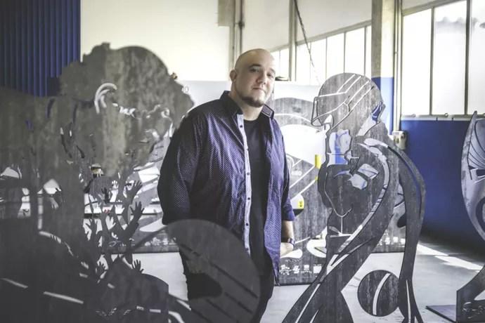 Resultado de imagem para enna terá museu a céu aberto com esculturas de aço