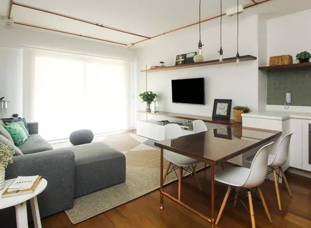 Decoraes diferentes em apartamentos com a mesma planta