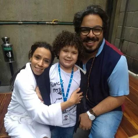 Thalita Carauta, Davi Queiroz e Luis Lobianco (Foto: Arquivo pessoal)