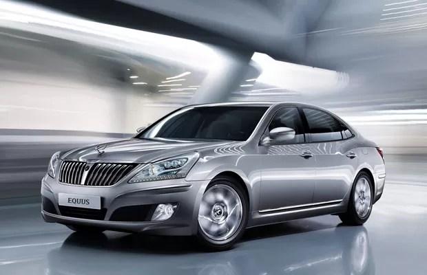 Auto Esporte  Sed Hyundai Equus chega ao Brasil por R