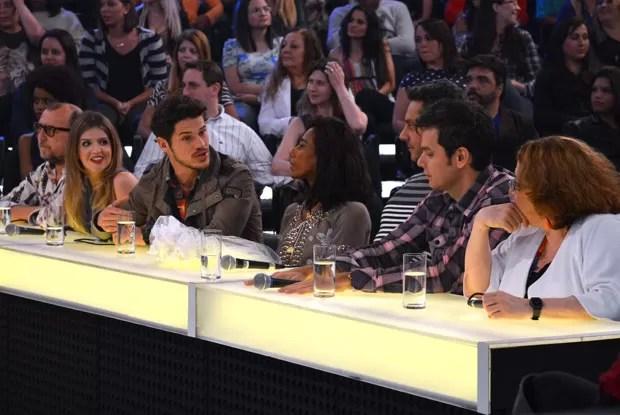 Jurados do Amor & Sexo comentam e fazem até revelações  (Foto: Amor & Sexo / TV Globo)
