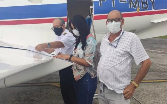 Regional de Ilhéus recebeu 1.820 doses da vacina — Foto: Redes Sociais