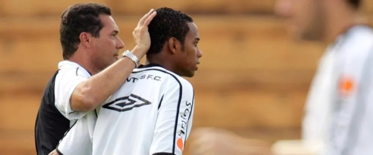 Luxemburgo é o treinador que mais vezes comandou o Santos desde 2003: 3 vezes — Foto: Agência Estado / Robson Fernandes