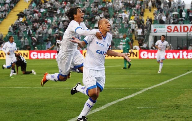 Marquinhos Avaí gol (Foto: Jamira Furlani/Avaí FC)