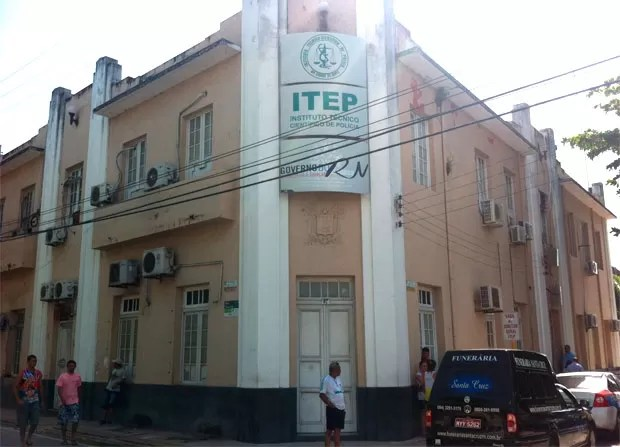 Instituto Técnico-Científico de Polícia (Itep) (Foto: Matheus Magalhães/G1)
