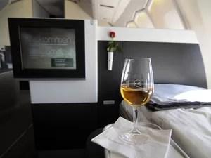 Lufthansa primeira classe (Foto: Divulgação)