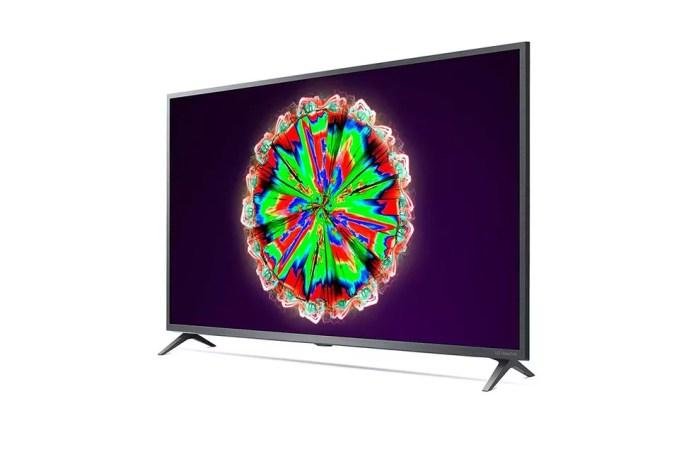 TV com tela NanoCell da LG aparece mais barata na semana da Black Friday — Foto: Divulgação/LG