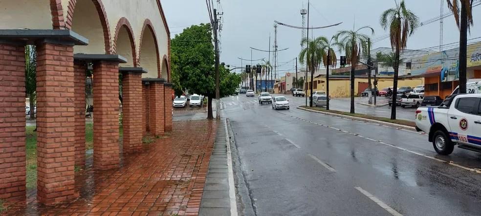 Chuvas devem continuar até quarta-feira (6) — Foto: Murilo Lima/Rede Amazônica Acre