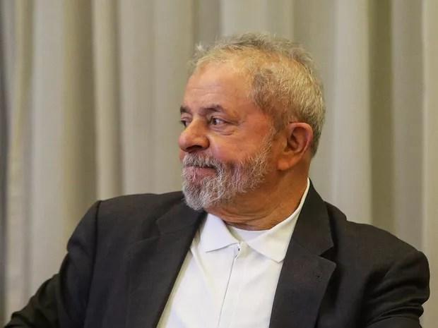 Lula em reunião do PT em São Paulo (Foto: Gabriela Biló/Estadão Conteúdo)