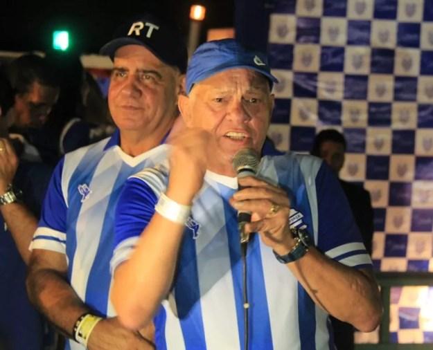 Rafael Tenório foi orientado a não prorrogar o mandato no cargo de presidente do CSA — Foto: Denison Roma/GloboEsporte.com