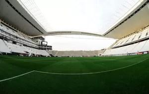 Arena Corinthians x Once Caldas (Foto: Marcos Ribolli)