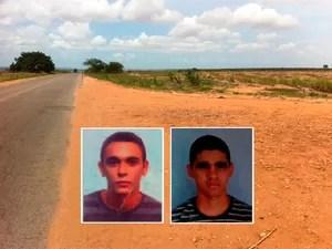 Local onde Manoel Gomes e José Costa foram executados no RN (Foto: Matheus Magalhães/G1)