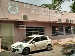 Delegacia de Defesa da Mulher em Várzea Grande (Foto: Divulgação/PJC)
