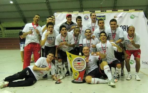 João Pessoa Futsal, campeão paraibano 2012 (Foto: Divulgação)