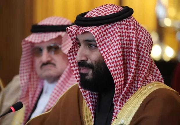 Mohammed bin Salman, príncipe herdeiro do trono da Arábia Saudita e principal responsável pelo programa de modernização do país (Foto: Dan Kitwood - WPA Pool/Getty Images)