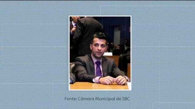 Mário Henrique de Abreu, ex-secretário de gestão ambiental de São Bernardo do Campo (Foto: GloboNews/Reprodução)