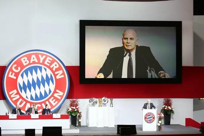 Uli Hoeness, presidente Bayern de Munique (Foto: Twitter / @FCBayern)