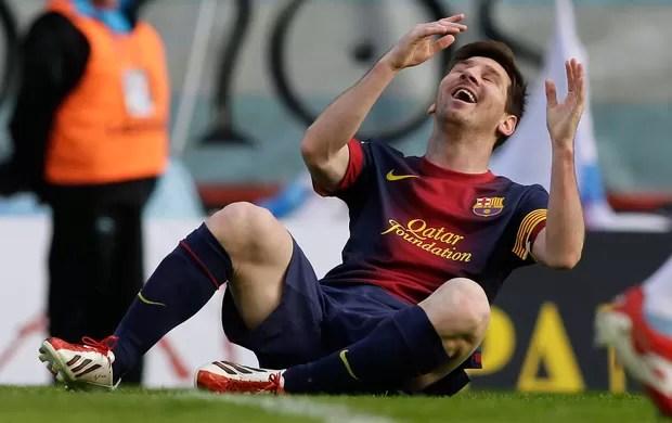 lionel messi barcelona celta de vigo (Foto: Agência Reuters)