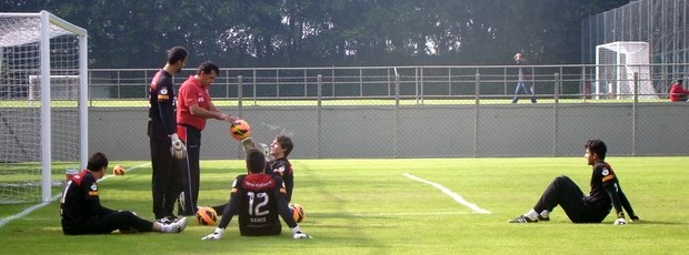 Goleiros do São Paulo (Foto: Site Oficial / saopaulofc.net)