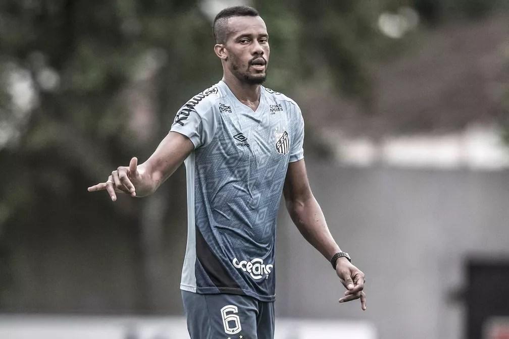 Copete, do Santos, está inscrito na Libertadores — Foto: Ivan Storti/Santos FC
