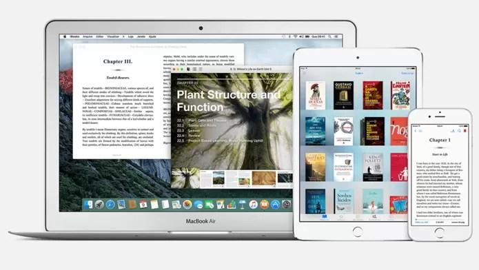 iBooks não deixa os usuários da Apple na mão: recursos de leitura e loja de livros exclusiva (Foto: Divulgação/Apple)