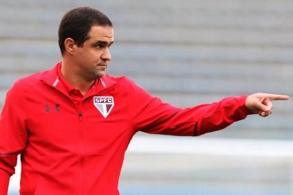 André Jardine convoca 20 jogadores do São Paulo para Libertadores da categoria (Foto: Igor Amorim/saopaulofc.net)