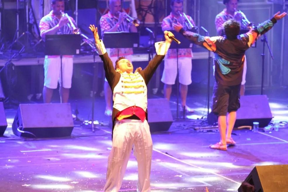 Almir Rouche é uma das atrações do Baile da Proibida (Foto: Aldo Carneiro/Pernambuco Press)