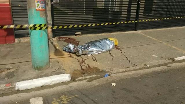homem morto em confronto de torcidas (Foto: Helio Torchi/Simapress/Estadão Conteúdo)