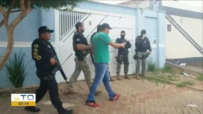 Vereador foi preso durante operação da Polícia Civil — Foto: Reprodução/TV Anhanguera