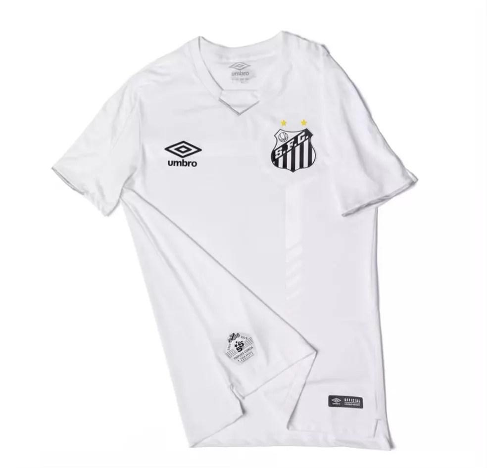 Camisa do Santos receberá o patrocínio máster da PicPay — Foto: Divulgação/Santos FC