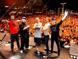 Planet Hemp animou o público na primeira noite do Mada (Foto: Rogério Vital)