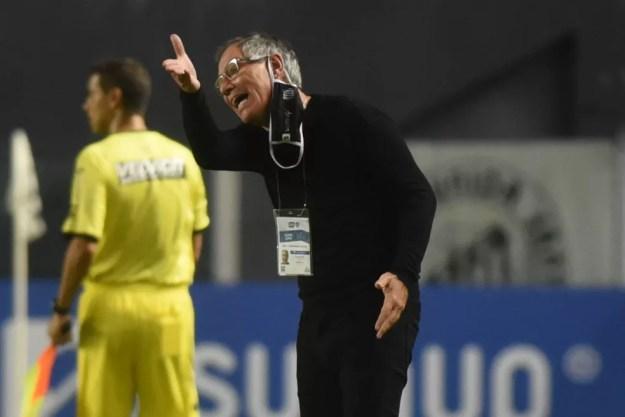 Ariel Holan, técnico do Santos — Foto: Ivan Storti/Santos