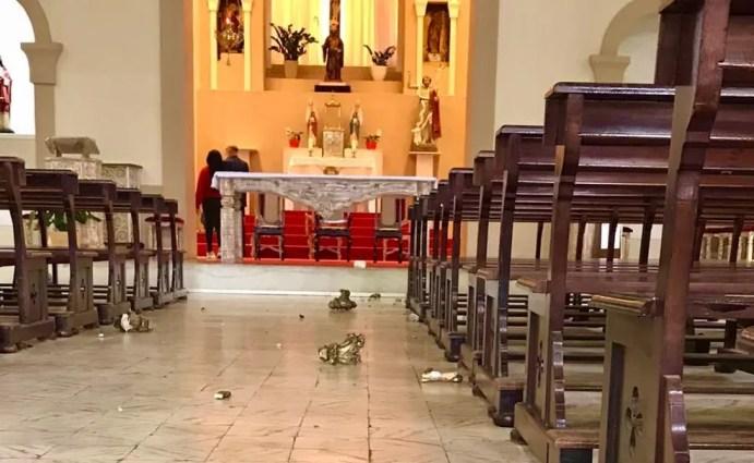 Igreja de Santo Amaro em Taquaritinga do Norte — Foto: Divulgação