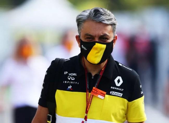Luca de Meo, CEO da Renault — Foto: Peter Fox/Getty Images