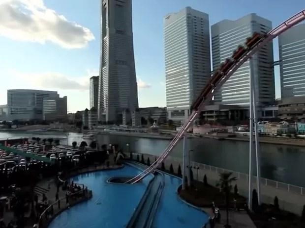 A atração fica em Yokohama (Foto: Reprodução/Youtube/antinbath)