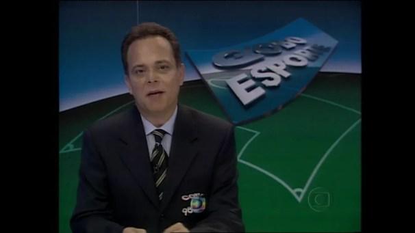 O apresentador Fernando Vannucci, em imagem de arquivo  — Foto: Reprodução/TV Globo