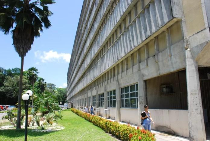 Hospital Universitário Lauro Wanderley, em João Pessoa — Foto: Rizemberg Felipe/Jornal da Paraíba/Arquivo